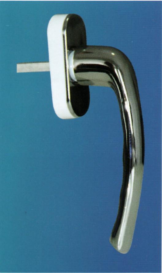 Alüminyum pencere kolu ibiza chrome