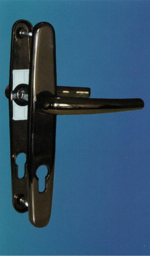 Alüminyum kapı kolu delux ibiza bronz