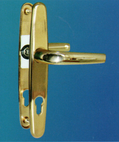 Alüminyum kapı kolu izmir delux gold