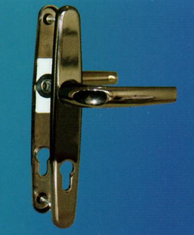 Alüminyum kapı kolu izmir delux bronz