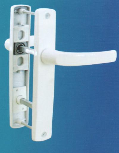 Balkon aynalı kapı kolu