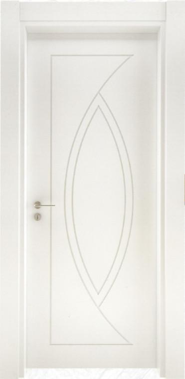 Saten beyaz kapı K106
