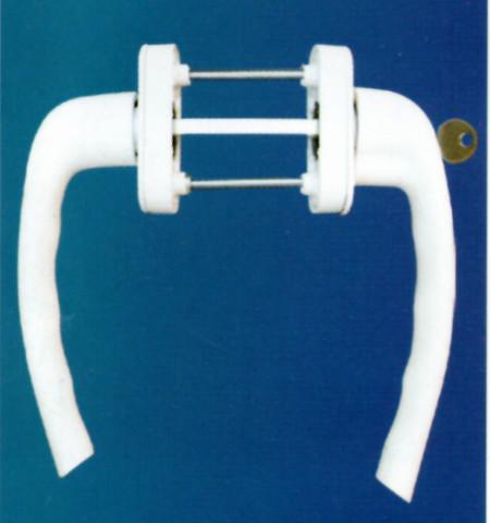 Alüminyum kapı kolu jumbo ibiza kilitli takım